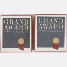 Two Grand Award, Worldwide Stamp Albums,
