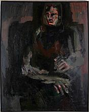 Walter Swyrydenko (Cleveland, 20th Century) More than One, Oil on canvas,