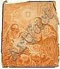 Johann Evangelist Holzer (1709-1740) Allegorical Scene, Chalk, Pen, and Ink on Paper., Johann Evangelist Holzer, Click for value