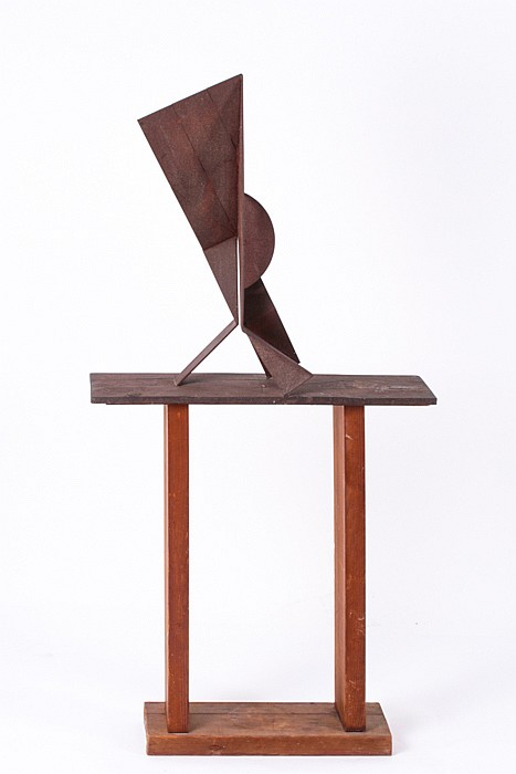 David E. Davis (b. 1920) Untitled, Bronze,