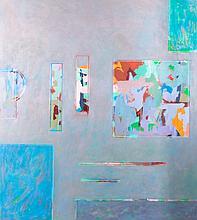 Al James Newbill (b. 1921) Winters End, 1989, Oil on canvas,