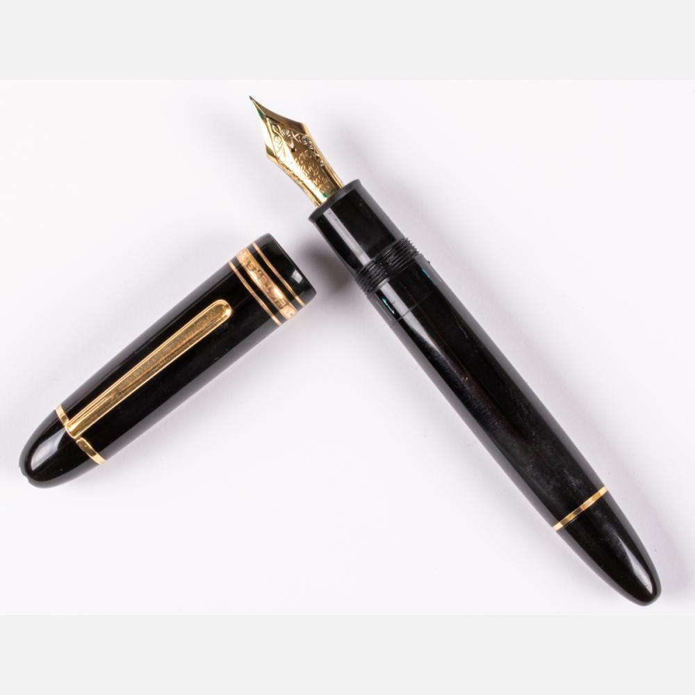 A Large Montblanc Meisterstuck No. 149 Fountain Pen,