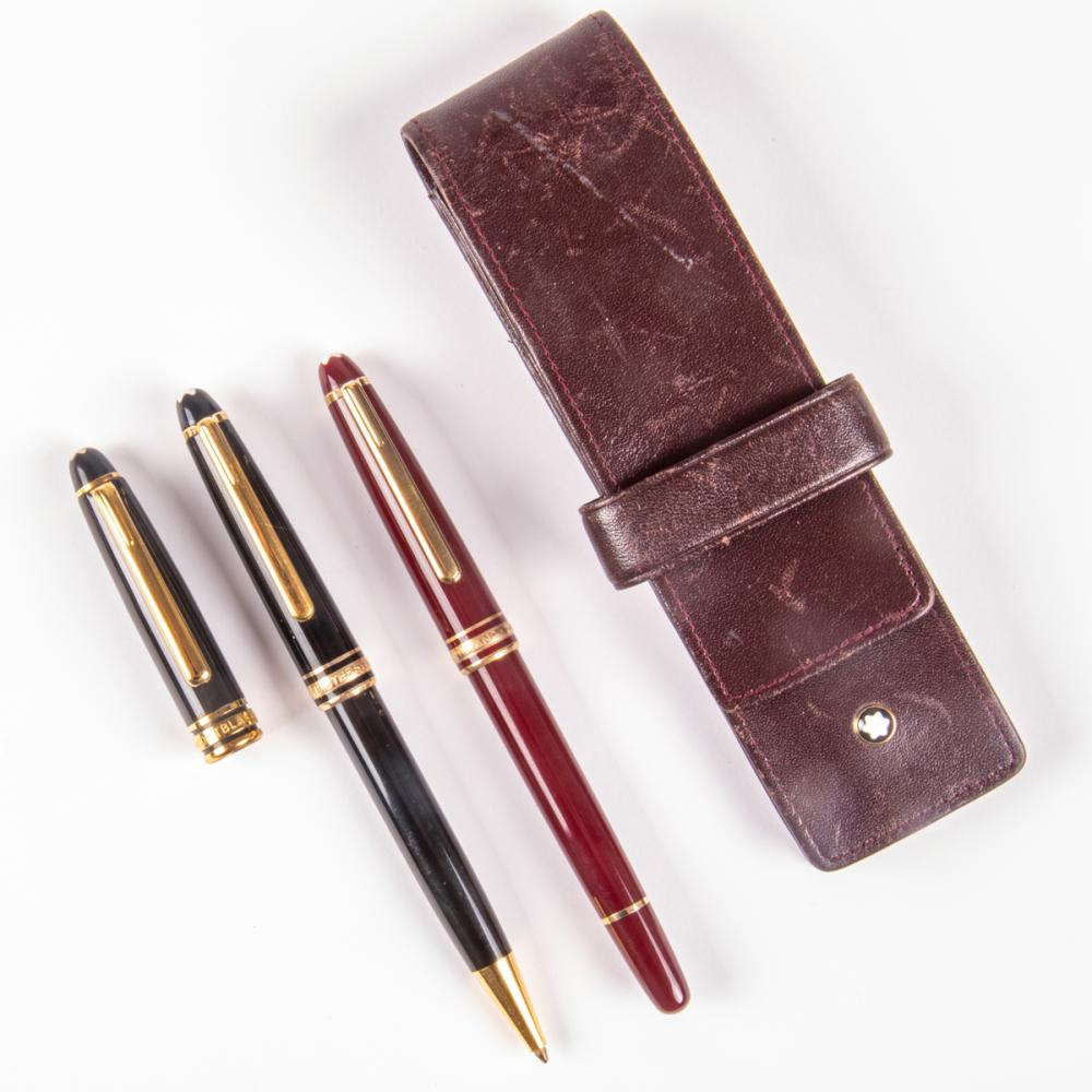 Two Montblanc Pens,