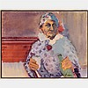 Ginna Brand (b. 1929) Old Clown,  Oil on canvas,, Ginna Brand, Click for value