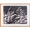 Ginna Brand (b. 1929) Untitled, Charcoal on paper,, Ginna Brand, Click for value