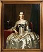 Frans Van Der Myn (1719-1783) Portrait of Mrs. Stephenson, Mayoress of Hull England, ca. 1750, Oil on canvas,