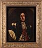 English School (18th Century) Portrait of King Charles II, Oil on canvas,