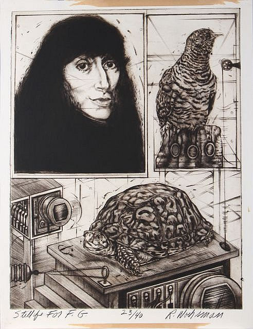Ralph Woehrman (American, b. 1940) Still Life for F.G. (1971), Etching and engraving on paper,