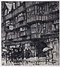 Luigi Kasimir (1881-1962) London, Holborn Houses, Etching,