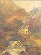 Joseph Paul Pettit (British 1812-1882) Mill, Joseph Paul Pettit, Click for value