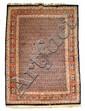 A Senneh Wool Rug, 20th Century.
