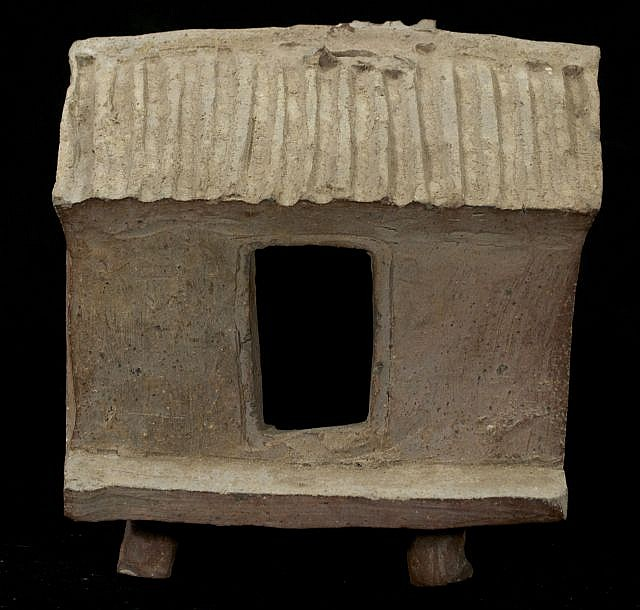 A Chinese Han Style Pottery Model of a House.