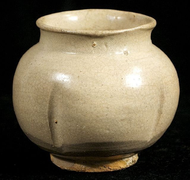 A Chinese Sung Dynasty Style Celadon Vase.