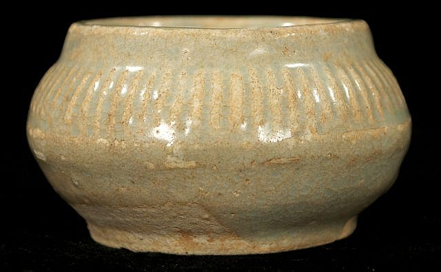 A Chinese Sung Dynasty Style Celadon Vessel.