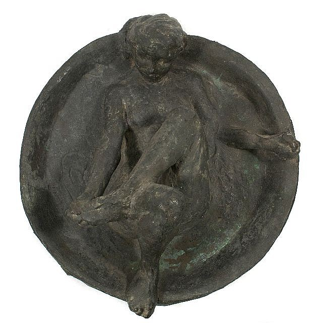 Edgar Degas (1834-1917, French) Le Tub, Bronze, from Hébrard Foundry. Conceived circa 1886 and cast shortly after 1919.