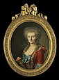 François-Bruno DeShays de Colleville (b. 1732) Portrait of a Lady, Oil on canvas,