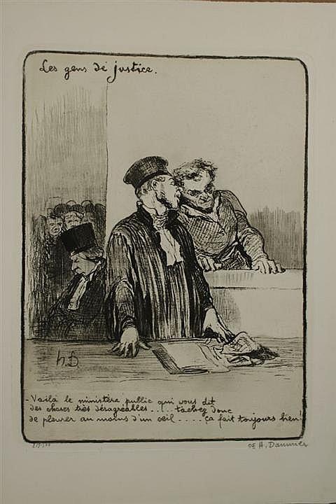 Lithographs by Honoré Daumier, 1808-1879 | Paul McCarron