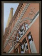 Roy Ahlgren (1927-2011) Window on the Past, Acrylic on canvas,