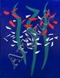 James Yoko (1916-2004) Seascape, Acryllic on canvas,