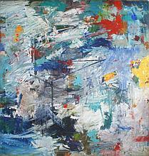 Al James Newbill (b. 1921) Untitled, 1961, Oil on canvas,
