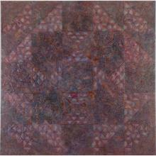 Nancy Wolff Underhill (20th Century) U101, 1978, Encaustic on canvas,