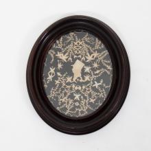 An Elaborate Cut Paper Silhouette by Hannah L. White, Sept. 2, 1808,