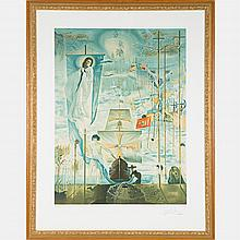 Salvador Dali (1904-1989) Discovery of America by Christopher Columbus, 1982, Lithograph,
