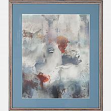 Laszlo Dus (b. 1941) Untitled, Lithograph,