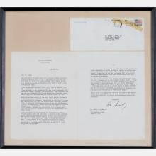 A Typed Two Page Letter Hand Signed by President John F. Kennedy, July 12, 1963,