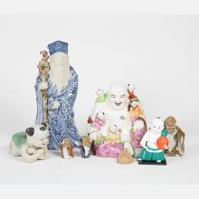 A Miscellaneous Collection of Chinese Porcelain and Ceramic Decorative Items, 20th Century.