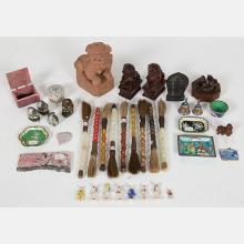 A Miscellaneous Collection of Asian Decorative Items, 19th/20th Century.
