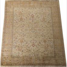 A Kashan Wool and Silk Rug, 20th Century.