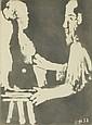 Pablo Picasso (1881-1973) Sculpteur au Travail, from the Sable Mouvant 1964, Aquatint on japon paper,