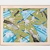 Ken Nevadomi (b. 1939) Indians Visit the Landscape II, Oil on canvas,, Ken Nevadomi, Click for value