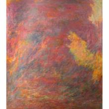 Al Newbill (1921-2011) River Reflections, 1969-70, Oil on canvas,