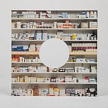 Damien Hirst (b. 1965) Pharmacy, 1992, Offset lithograph in colors on board with cut out,