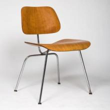 A Charles and Ray Eames LCM (Lounge Chair Metal) Chair, ca. 1945-1946,