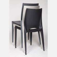 A Set of Three Reproduction Stacking Chairs after Mario Bellini, 20th Century.