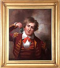 Attributed to Thomas Lawrence (1769-1830) Portrait of William Burton, Oil on canvas,