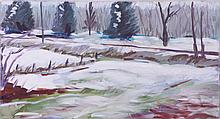 Mark David Gottsegen (1948-2013) Untitled, Acrylic on canvas.