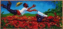 Mark David Gottsegen (1948-2013) Killer Tiller, 1994, Acrylic on canvas.