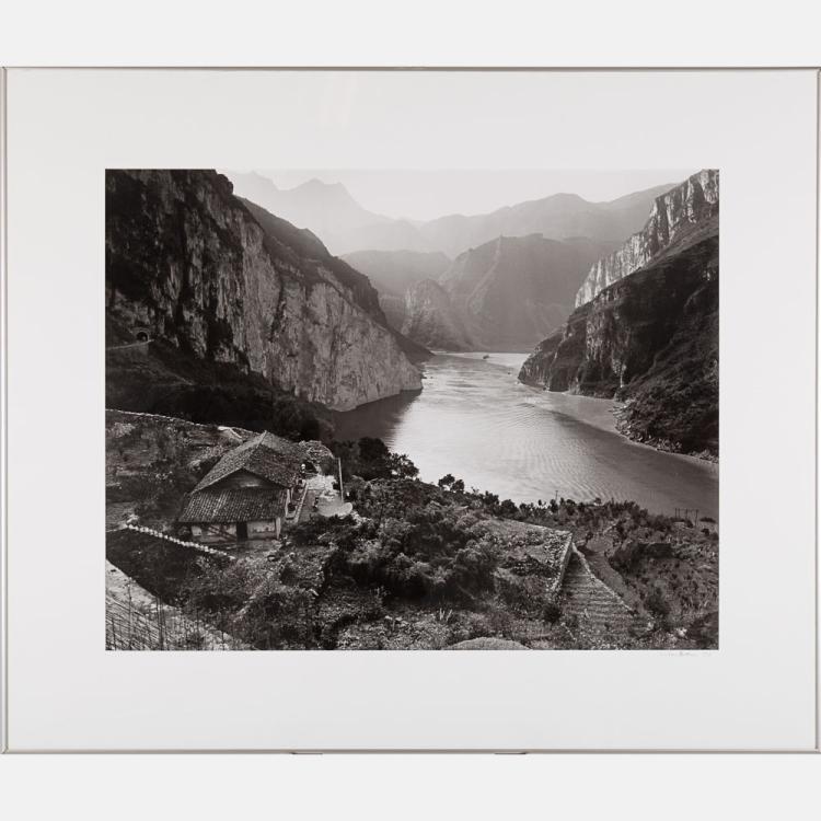 Linda Butler (b. 1947) Yangtze Overlook, Xiling Gorge, 2000, Silver gelatin print,