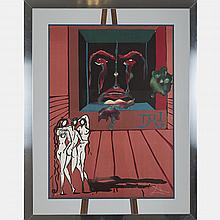 Salvador Dali (1904-1989) Obsession of the Heart, 1976, Lithograph,