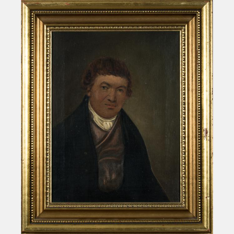 Daniel Orme (c. 1766-1832) Portrait of a Gentleman, Oil on board,