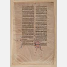 An Illuminated Bible Manuscript, Italy, ca. 1280.