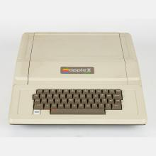 A Vintage Apple II Plus Computer, 20th Century.