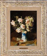 After Edouard Manet (1832-1883) Flowers, Oil on canvas,