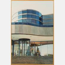 Mary Lou Ferbert (20th Century) J.V.J. Corporate Headquarters, 1987, Watercolor,