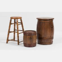 Two American Oak Barrels, 19th/20th Century,