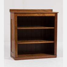 An American Pine Bookcase, 20th Century.